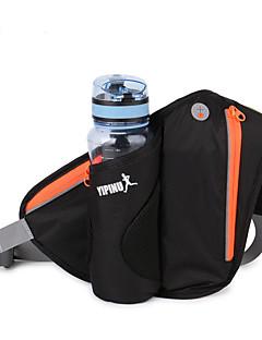 billiga Ryggsäckar och väskor-4 L Midjeväska - Regnsäker, Vattentät dragkedja Utomhus Camping, Löpning, Jogging Nylon Grön, Blå, Violet t