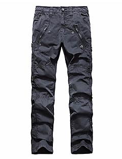 billige Herrebukser og -shorts-Herre Aktiv Chinos Bukser Ensfarget