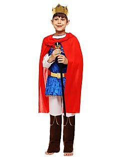 billige Halloweenkostymer-Cosplay Kostume Gutt Halloween Karneval Barnas Dag Festival / høytid Halloween-kostymer Drakter Rose Ensfarget Halloween Halloween