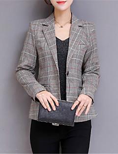 billige Kvinder Overtøj-Dame Ensfarvet Basale Blazer
