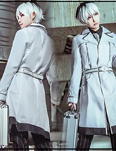 """billige Anime cosplay-Inspirert av Tokyo Ghoul Ken Kaneki Anime  """"Cosplay-kostymer"""" Cosplay Klær Stribe / Animé Frakk / Trøye / Bukser Til Herre"""