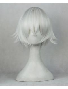 billiga Anime/Cosplay-peruker-Cosplay Peruker K Yashiro Isana Animé Cosplay-peruker 88.9 cm CM Värmebeständigt Fiber Unisex Halloweenkostymer
