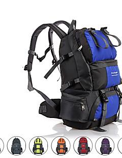 billiga Ryggsäckar och väskor-50 L Ryggsäckar / Ryggsäck - Regnsäker, Bärbar, Mateial som andas Utomhus Camping, Cykel oxford Röd, Blå, Grå