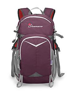 billiga Ryggsäckar och väskor-24 L Ryggsäckar - Mateial som andas Utomhus Resor, Skola 100g / m2 Polyester Stretch Purpur, Blå, Grå
