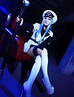 """billige Anime Kostymer-Inspirert av Akame Ga Kill! Cookie Anime Anime  """"Cosplay-kostymer"""" Cosplay Klær Animé Frakk / Ermer / Sokker Til Dame"""