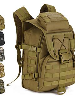 billiga Ryggsäckar och väskor-40 L Ryggsäckar - Regnsäker, Bärbar Utomhus Militär, Resor Nylon Grå, Kamoflage, Khaki grön