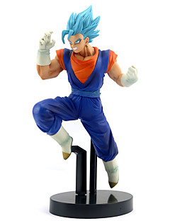 billige Anime cosplay-Anime Action Figurer Inspirert av Dragon Ball Son Goku PVC 20 cm CM Modell Leker Dukke