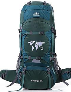billiga Ryggsäckar och väskor-80 L Ryggsäck - Bärbar, Mateial som andas Utomhus Camping, Klättring, Skidor Nylon Orange, Mineral-grön, Mörkgrön