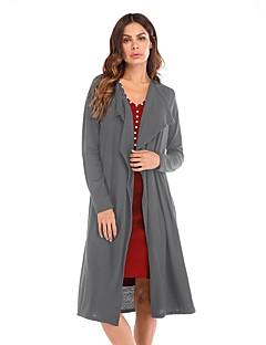 baratos Suéteres de Mulher-Mulheres Activo Carregam - Sólido / Listrado