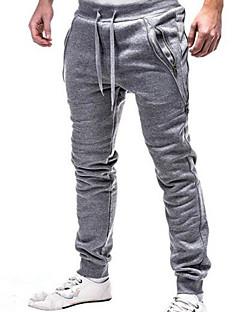 tanie Modna odzież męska-Męskie Podstawowy Spodnie dresowe Spodnie Solidne kolory