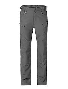 baratos Calças e Shorts para Trilhas-Homens Calças de Trilha Ao ar livre A Prova de Vento, Secagem Rápida, Respirabilidade Elastano Calças Equitação / Exercicio Exterior