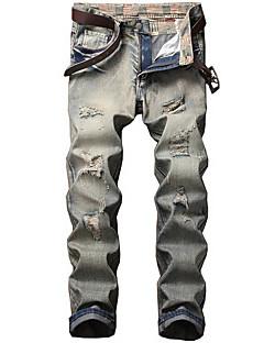 billige Herrebukser og -shorts-Herre Aktiv Jeans Bukser Kamuflasje