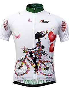 00b2c3834 cheap Cycling Clothing-21Grams Women  039 s Short Sleeve Cycling Jersey -  White