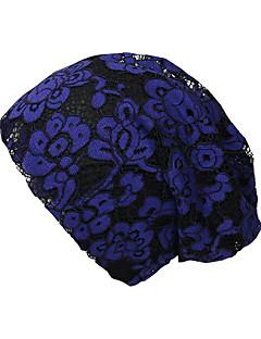 billige Trendy hatter-Dame Grunnleggende / Ferie Solhatt - Netting, Blomstret