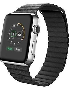 billige Ur Tilbehør-Kalvehår Urrem Strap for Apple Watch Series 3 / 2 / 1 Sort / Blåt / Brun 23cm / 9 tommer 2.1cm / 0.83 Tommer