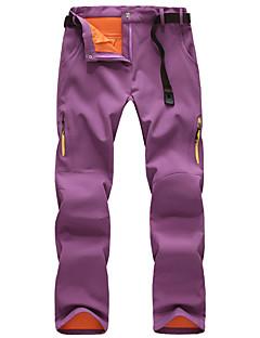 tanie Turystyczne spodnie i szorty-Damskie Spodnie turystyczne Na wolnym powietrzu Odporność na wiatr, Oddychalność, Zdatny do noszenia Zima Spodnie, Doły Piesze wycieczki Ćwiczenia na zewnątrz XL XXL XXXL / Średnio elastyczny