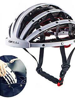 billiga Cykling-CAIRBULL Vuxna cykelhjälm 30 Ventiler ESP+PC sporter Cykling / Cykel - Silver / Gul / Fuchsia Unisex