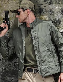 tanie Kurtki turystyczne i polary-Męskie Military Tactical Jacket Kurtka softshell turystyczna na wolnym powietrzu Jesień Wiosna Odporność na wiatr Oddychalność Zdatny do noszenia Mieszanka bawełny i poliestru Kurtka Pojedyncze Slider
