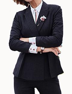 Χαμηλού Κόστους Blazers-γυναικεία επαγγελματική δουλειά επίσημη λεπτή σκοινί σαγιονάρες με ραβδωτή εγκοπή