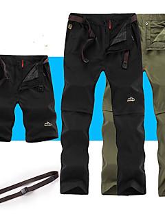 baratos Calças e Shorts para Trilhas-Homens Calças de Trilha Ao ar livre Á Prova-de-Chuva, Secagem Rápida, Respirabilidade Calças Caça / Pesca / Equitação