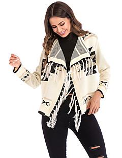 baratos Suéteres de Mulher-Mulheres Boho Carregam - Geométrica, Franjas
