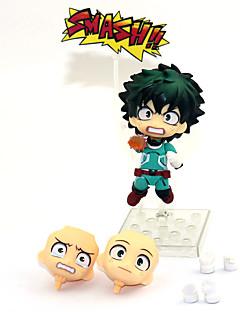 billige Anime cosplay-Anime Action Figurer Inspirert av My Hero Academy Battle For All / Boku no Hero Academia Midoriya Izuku PVC 10 cm CM Modell Leker Dukke