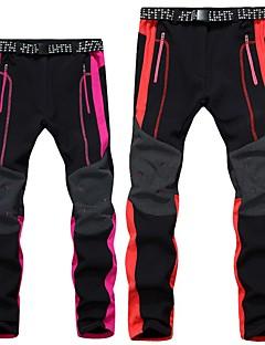 baratos Calças e Shorts para Trilhas-Mulheres Calças de Trilha Ao ar livre A Prova de Vento, Respirabilidade, Vestível Inverno Calças Esqui / Equitação / Alpinismo / Micro-Elástica / Resistente a UV