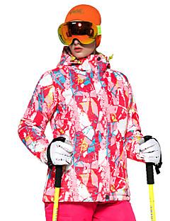 billiga Skid- och snowboardkläder-Dam Skidjacka Varm, Ventilerande, Vindtät Skidåkning / Multisport / Vintersport Polyester Dunjackor Skidkläder