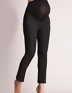 tanie Garderoba dolna-Damskie Podstawowy Typu Chino Spodnie Solidne kolory