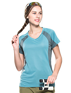 tanie Koszulki turystyczne-FLYGAGa Damskie T-shirt turystyczny na wolnym powietrzu Lato Szybkie wysychanie Oddychalność Odvádí pot Odzież sportowa Odzież POLI T-shirt Nie dotyczy Kemping i turystyka Ćwiczenia na zewnątrz