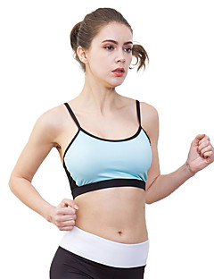 7fd131572c LUCK PANTHER Women s Spaghetti Strap Cut Out Sports Bra Light Green Sports  Solid Color Spandex Top Zumba Yoga Running Activewear Breathable Quick Dry  ...
