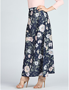 cheap Designers Collections-Women's Going out Boho Maxi A Line / Swing Skirts - Floral Print / Slim