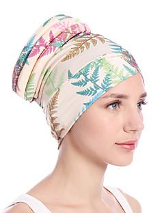 billige Hatter til damer-Dame Vintage / Fest / Ferie Solhatt Blomstret Tropisk blad