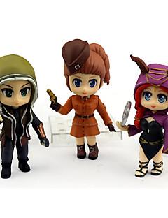 billige Anime cosplay-Anime Action Figurer Inspirert av Cosplay Cosplay PVC 9 cm CM Modell Leker Dukke