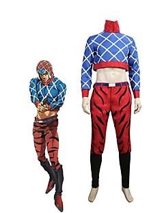"""billige Anime Kostymer-Inspirert av Jojos Bizarre Adventure Cosplay Anime  """"Cosplay-kostymer"""" Cosplay Klær Annen Langermet Other / Topp / Bukser Til Unisex"""