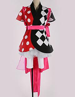 """billige Anime cosplay-Inspirert av Cosplay Cosplay Anime  """"Cosplay-kostymer"""" Cosplay Klær Geometrisk mønster Kjole / Belte / Mer Tilbehør Til Herre / Dame"""