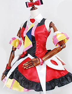 """billige Anime Kostymer-Inspirert av Programmene Frontier Cosplay Anime  """"Cosplay-kostymer"""" Cosplay Klær Flerfarget Halsklut / Kjole / Sløyfe Til Herre / Dame"""