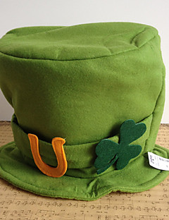Robin Hood Sombrero de trébol irlandés Adulto Hombre Halloween Carnaval Día  de San Patricio Festival   Celebración Tejido Verde Traje carnaval Novedad  de ... 8ee6dc80129