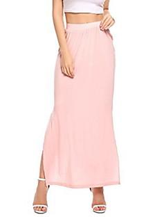 Χαμηλού Κόστους Γυναικείες Φούστες-Γυναικεία Μολύβι Κομψό στυλ street  Φούστες - Μονόχρωμο 2732d7faee9