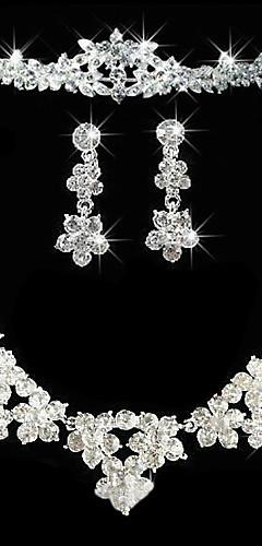 b26922ba9 Dámské Ostatní Šperky Set Küpeler / Náhrdelníky / Diadémy - Pravidelný Pro  Svatební / Párty / Výročí
