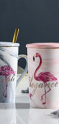 cheap -Drinkware Mugs&Cups Porcelain Boyfriend Gift / Girlfriend Gift / Cute Gift / Casual / Daily