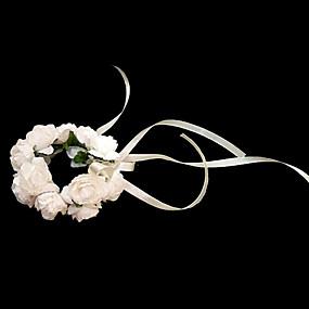 baratos Flores-Bouquets de Noiva Buquês Buquê de Pulso Outros Casamento Festa / Noite Material Papel 0-20cm