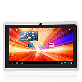 abordables Tabletas Android-7 pulgadas Tableta androide (Android 4.4 1024*600 Quad Core 512MB RAM 8GB ROM)