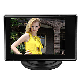 povoljno Sigurnosni sustavi-Instrument 3.5 Inch TFT LCD Adjustable Monitor for CCTV Camera with AV RCA Video Sound Input za sigurnosti sustavi 15*14cm 0.121kg