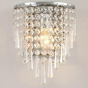 cheap Flush Mount Wall Lights-LightMyself™ Crystal Modern / Contemporary Flush Mount wall Lights Living Room Wall Light 110-120V / 220-240V 3 W