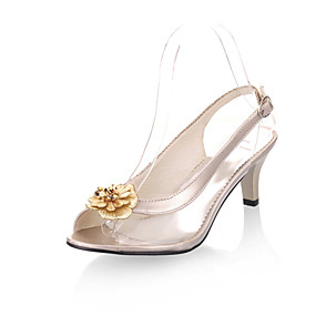 5b1584a03d75 Women s Sandals Spring Summer Comfort Leatherette Dress Casual Kitten Heel  Buckle Walking