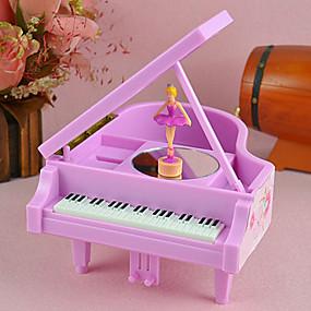 abordables Jouets Musique, Art & Dessin-lac des cygnes ballet tourner fille boîte à musique de piano