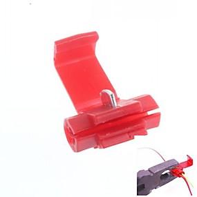 billige Koblinger & Terminaler-hurtig splejse wire stik seletøj holdeclips / holder (40pcs)