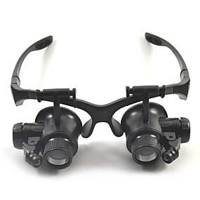 povoljno Edukativne igračke-Povečala Visoka rezolucija LED Slušalice 10/15/20/25 15 mm plastika
