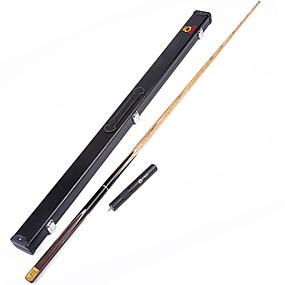 cheap Billiards & Pool-Cue Sticks & Accessories Snooker Wood Three-quarter Two-piece Cue